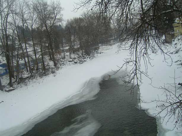The granby in winter